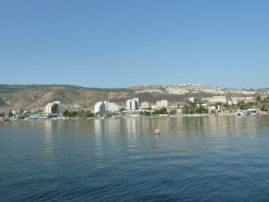 The shores of Galilee